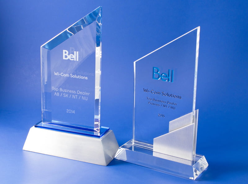 Bell Mobility Dealer of the Year 2014 and 2015 photo