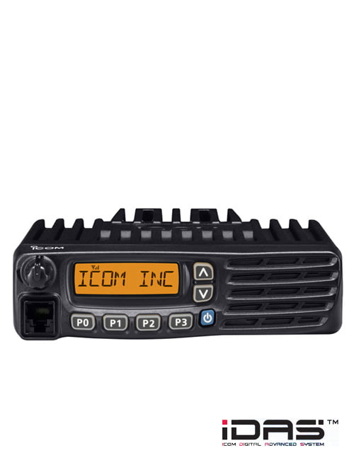 IC-F5121D / F6121D VHF and UHF digital/analog transceivers