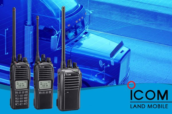 Icom Land Mobile Digital handheld 2-way radios