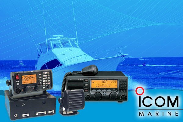 Icom Marine Fixed Mount HF