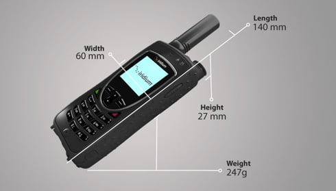 satellite-phone-dimensions-diagram