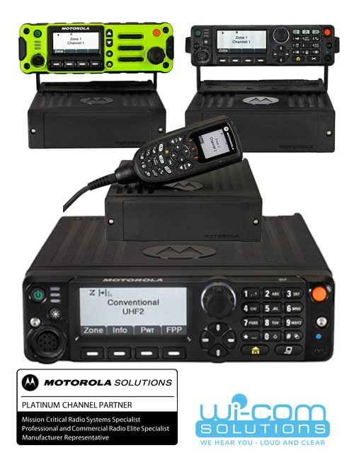 Motorola Project 25 Radios | Wi-Com Solutions Inc