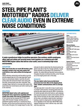 Manufacturing - Two Way Radio Audio PDF