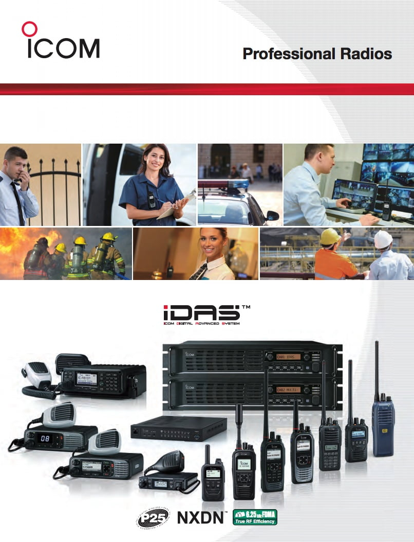 Icom Professional Radios